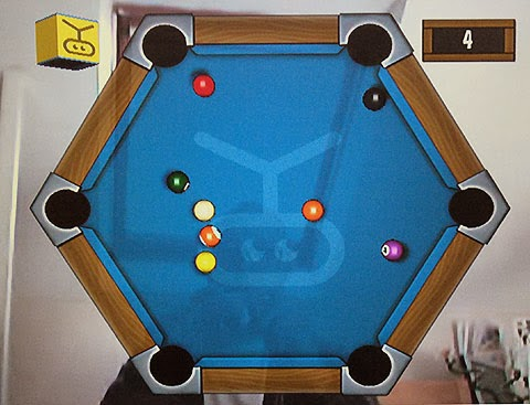 Motion Pool in EyeToy Play 2.