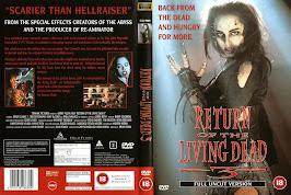 El regreso de los muertos vivientes 3 (1993) - Carátula