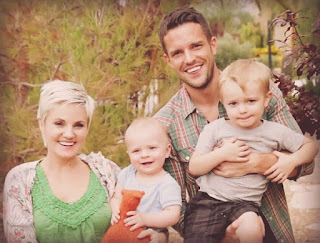 Brandon Flowers y familia