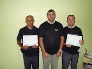 Empresários do Sul de Minas sendo certificados