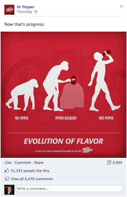 dr pepper evolution advertisement