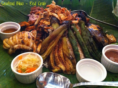 Seafood Bilao sa Red Crab