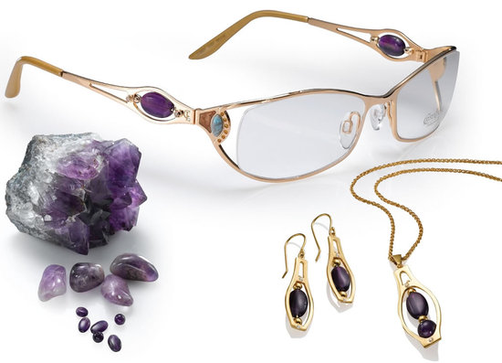 Ladies Fabulous Eyewear With Swarovski And Gemstone Collection