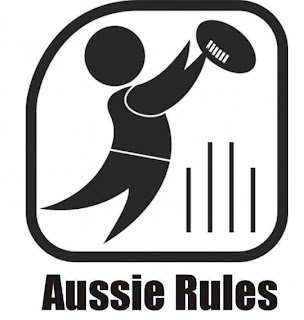 Aussie Rules Football Logo