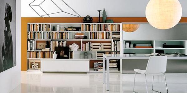Merancang Desain Perpustakaan dalam Rumah Minimalis | Rancangan Desain ...