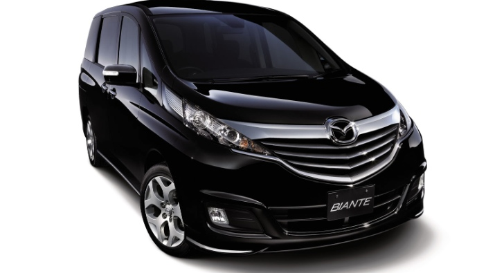 Mazda Biante GRANZ Skyactiv, a Cool Japanese MPV [Video]