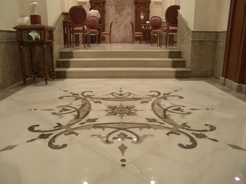 Vitrified Tiles Flooring Or Marble Flooring Interior