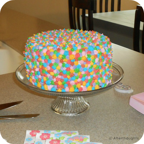 Simple Cake Designs For Girl Birthday : The Three-Hour Birthday Cake Afterthoughts