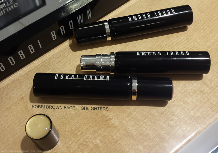 Bobbi Brown Sterling Nights Holiday 2015 Makeup Collection Photos Swatches Face Highlighter Seashell Pink Sunlight Bronze