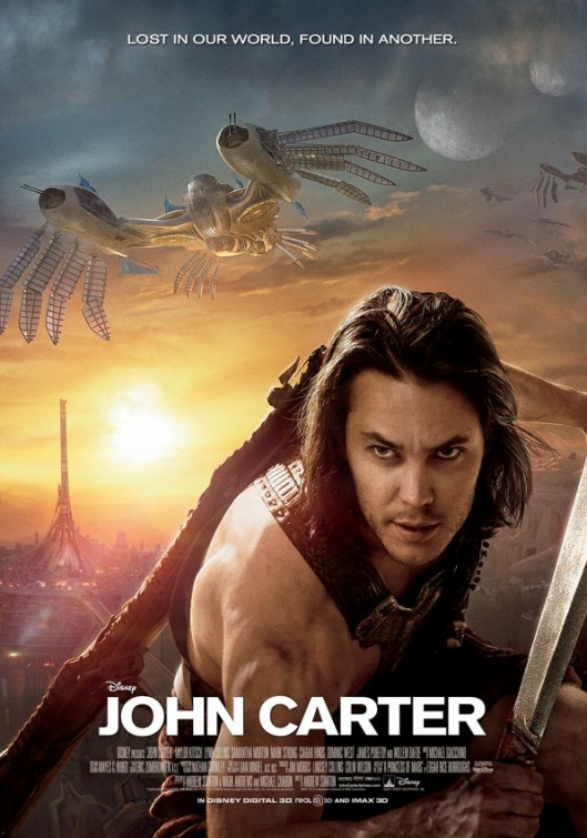 Disney's John Carter movie poster