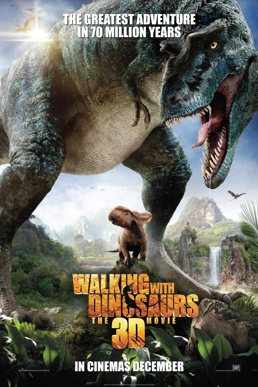 Walking with Dinosaurs 3D full movie