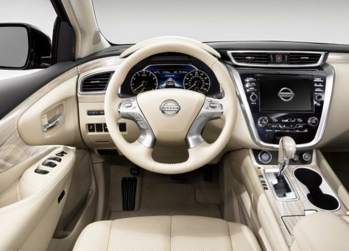This is the new 2015 Nissan Murano interior