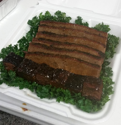 brisket turn in, bbq brisket