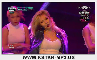 [Performance] HyunA - Roll Deep @ M! Countdown 2015.09.10