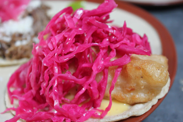 Fish taco at Lone Star Taco Bar, Allston, Mass.