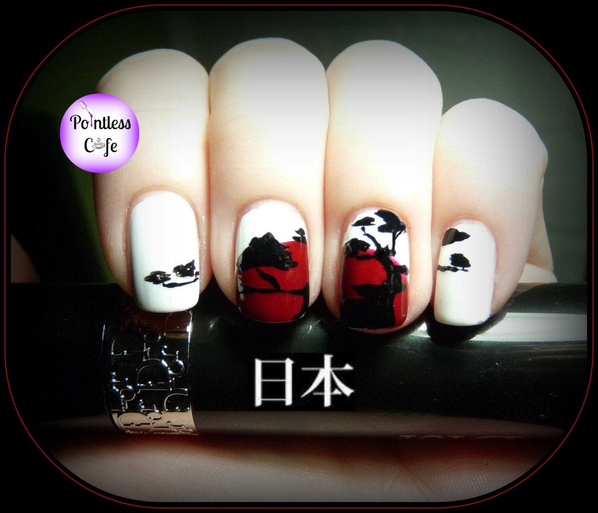 Nail Art History: Nail Art Theme Week: Japanese