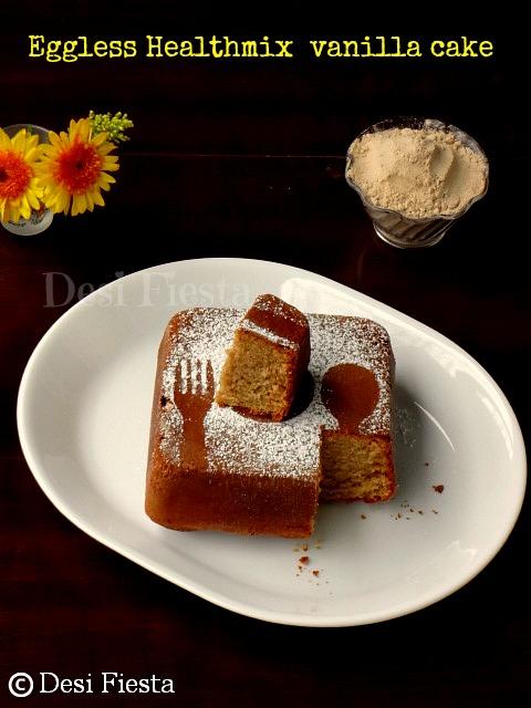 Spongy healthmix cake