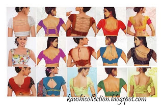blouse back neck catalogue