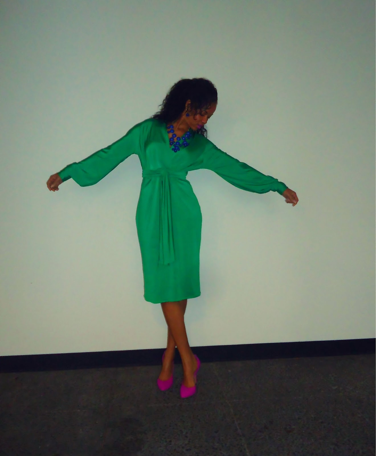 Green Dress; JaDeVan