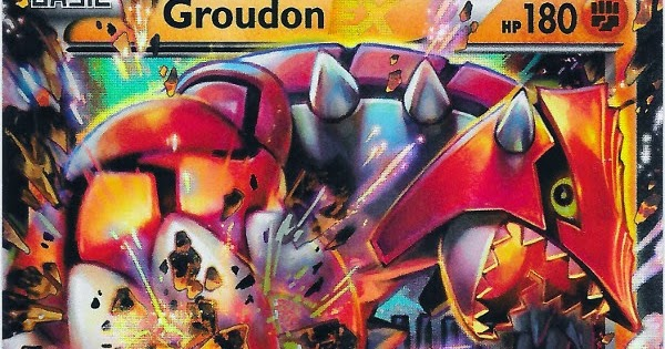how to draw primal groudon ex