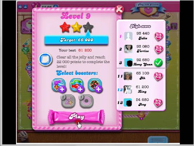 Candy Crush Level 130 Objective