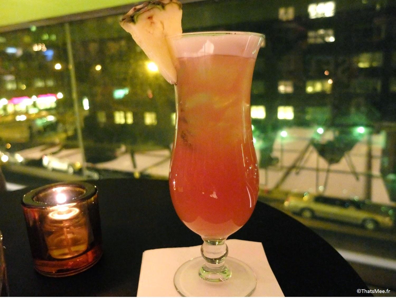 Half and Half Bar Hudson Hotel Morgans group NYC cocktail rhum