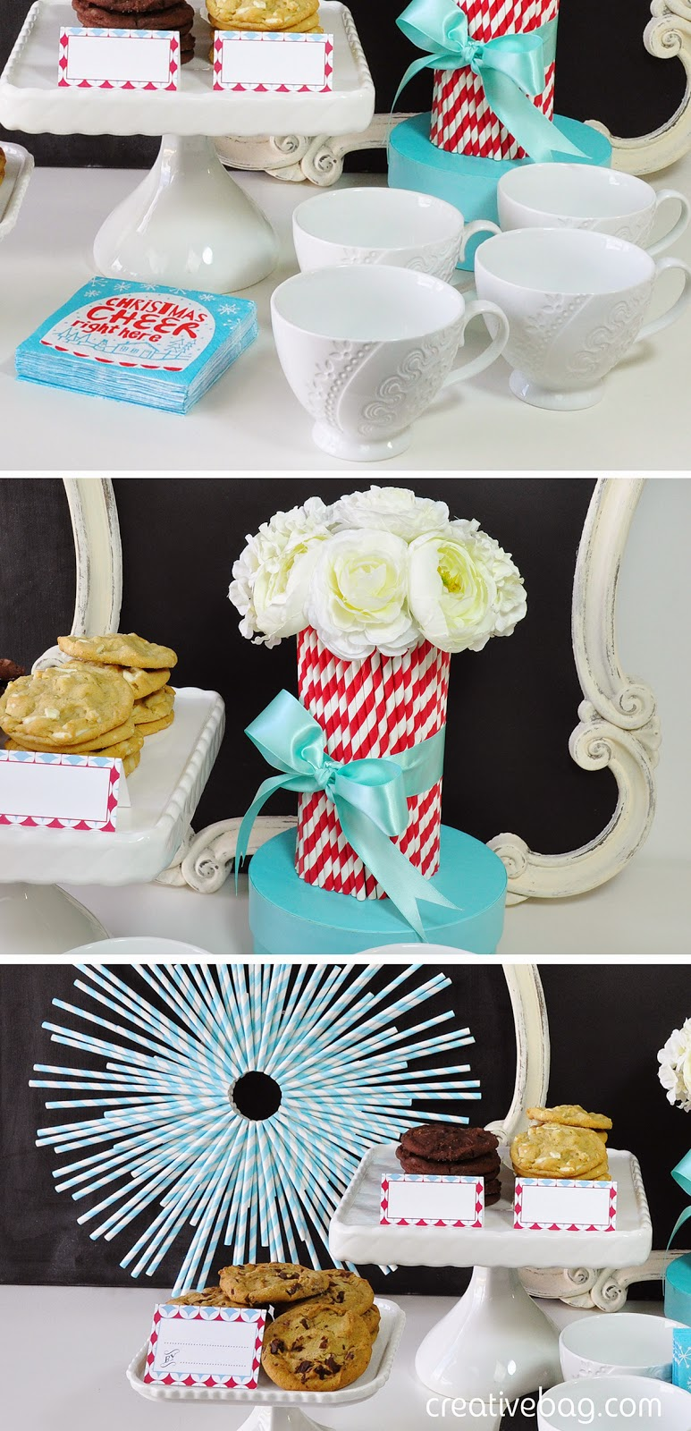 host a cookie swap party + free printables | creativebag.com