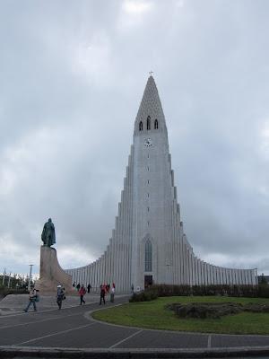 Hallgrimskirkja Exterior in Reykjavik
