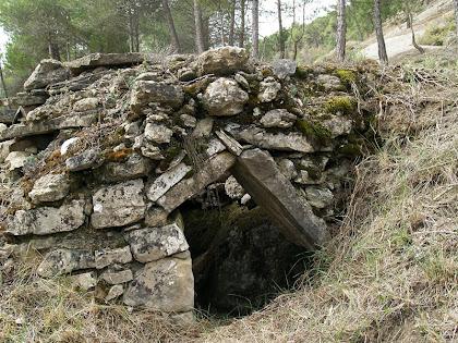 Barraca de vinya del Serrat del Gordi (I)