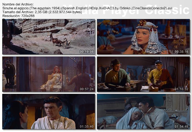 Sinuhe el egipcio | 1954 | The Egyptian | Caps | Secuencias