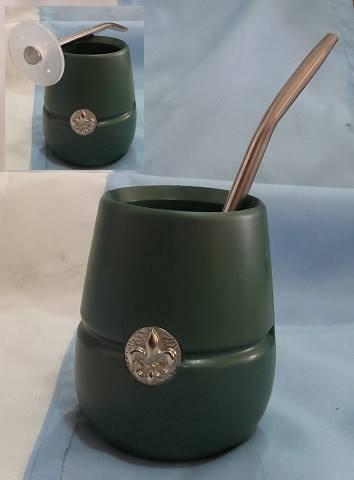 Mate de plástico acrílico S/ 100 - (Incluye bombilla)