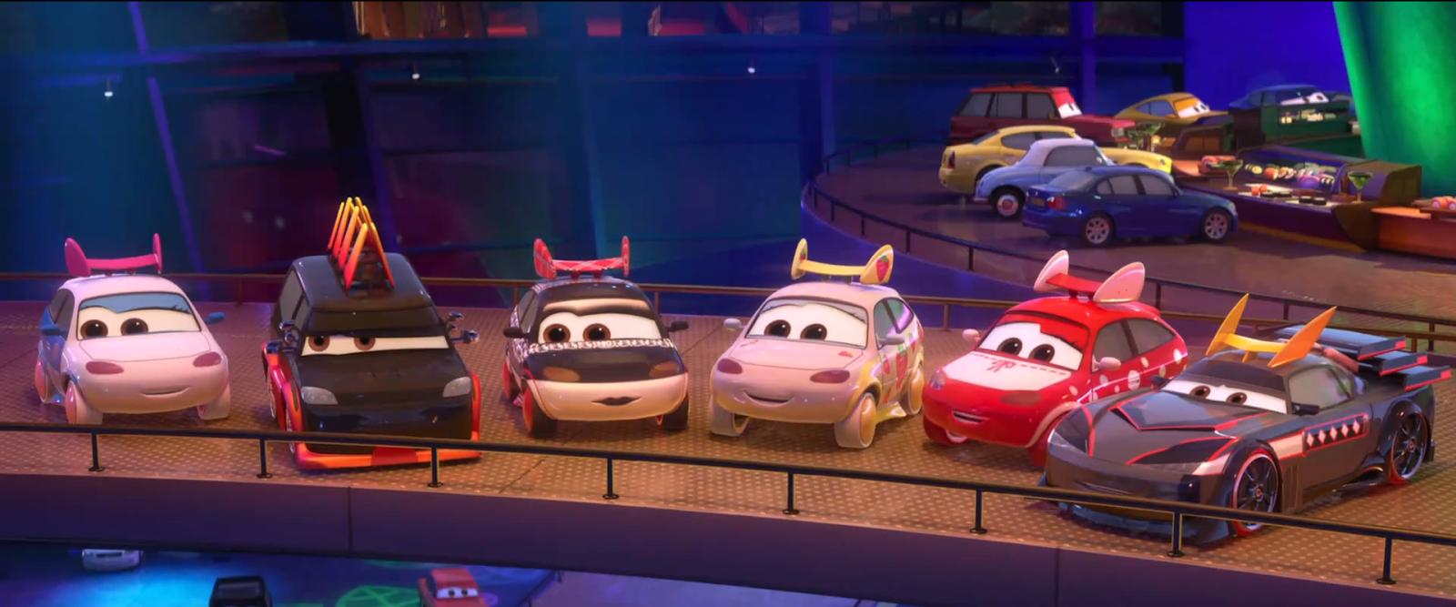 Dan the Pixar Fan: Cars 2: Ichigo