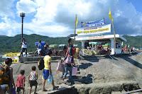Welcome to Layag Festival, Brgy. Poblacion pier