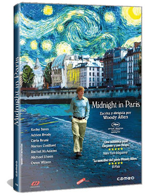 Midnight in Paris (Woody Allen, Oscar al mejor guión) 1 lin