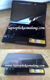 Laptop Bekas Toshiba L645 Core-i3, 3 jutaan