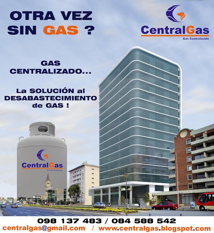 CentralGas... La SOLUCION al desabastecimiento de gas residencial, comercial e industrial