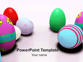 Free download Easter PowerPoint template 006A