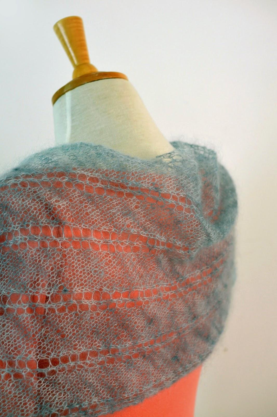 Rivelin scarf pattern by Katya Frankel