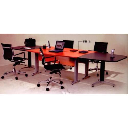 Meja Kantor/Kerja Aditech - Meja Meeting Persegi FM - 11