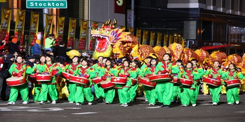 Wonderful Chinese New Year Celebration In San Francisco