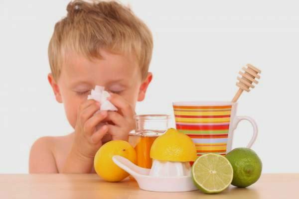 remedios caseros resfriado niños