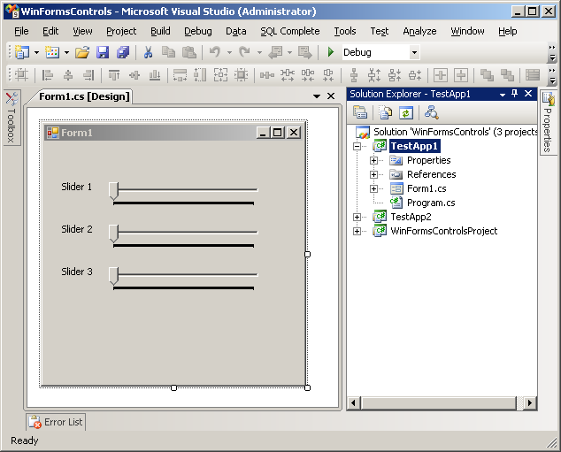 Events & Delegates In C# - Win Forms Controls
