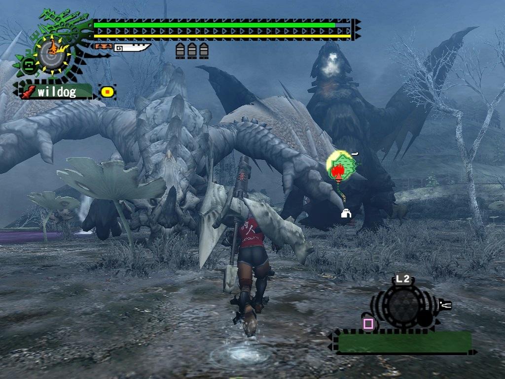 monster hunter 2 english