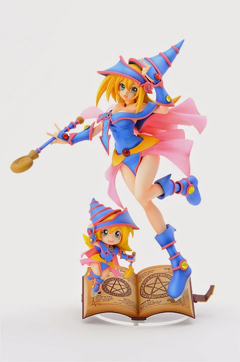 AMAKUNI Yu-Gi-Oh! Duel Monsters Dark Magician Girl pre-painted PVC Statue official image 00