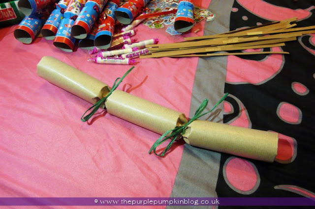 Handmade Christmas Crackers | The Purple Pumpkin Blog