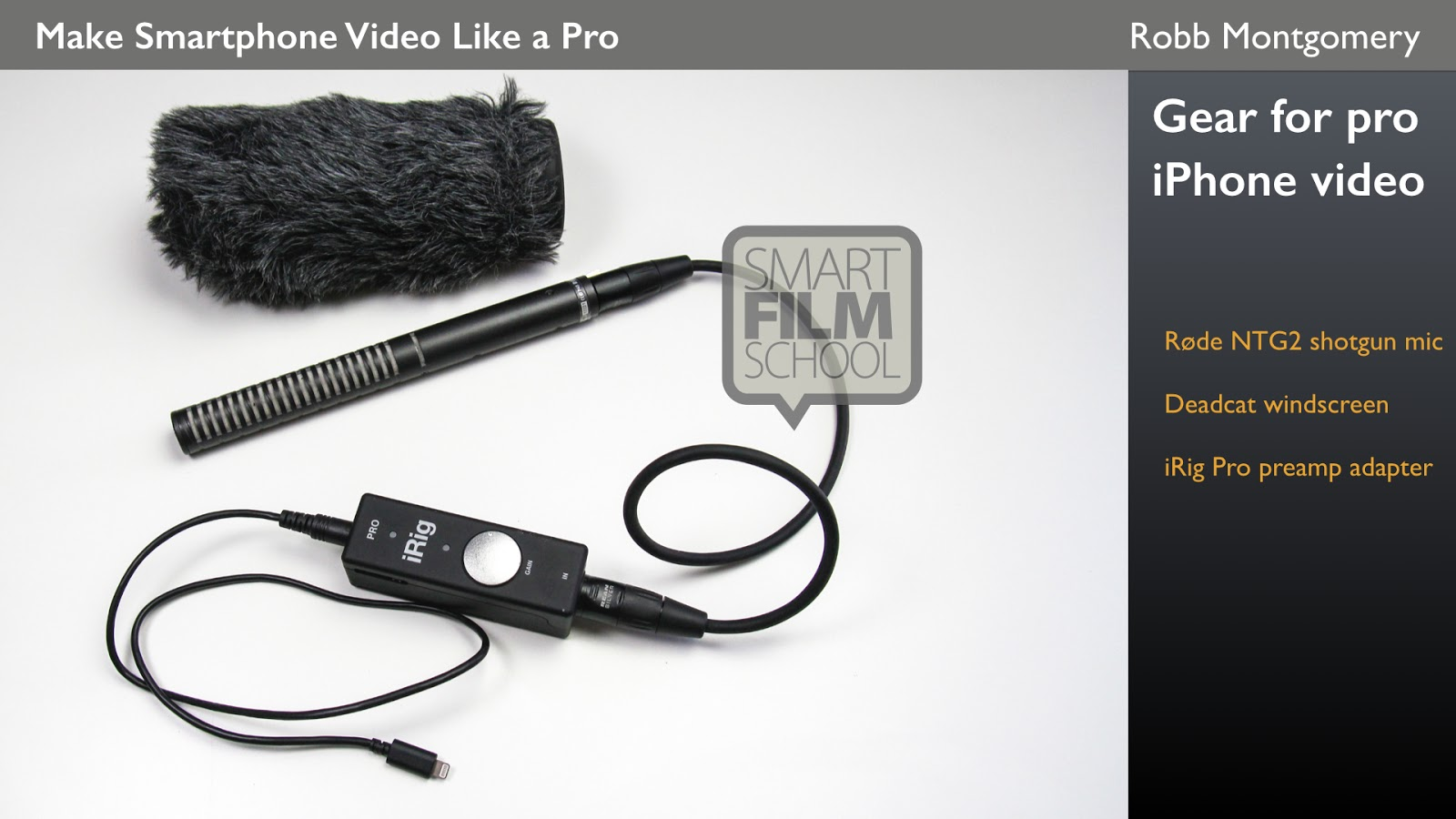 Best Gear For Mobile Video Journalism With A Smartphone