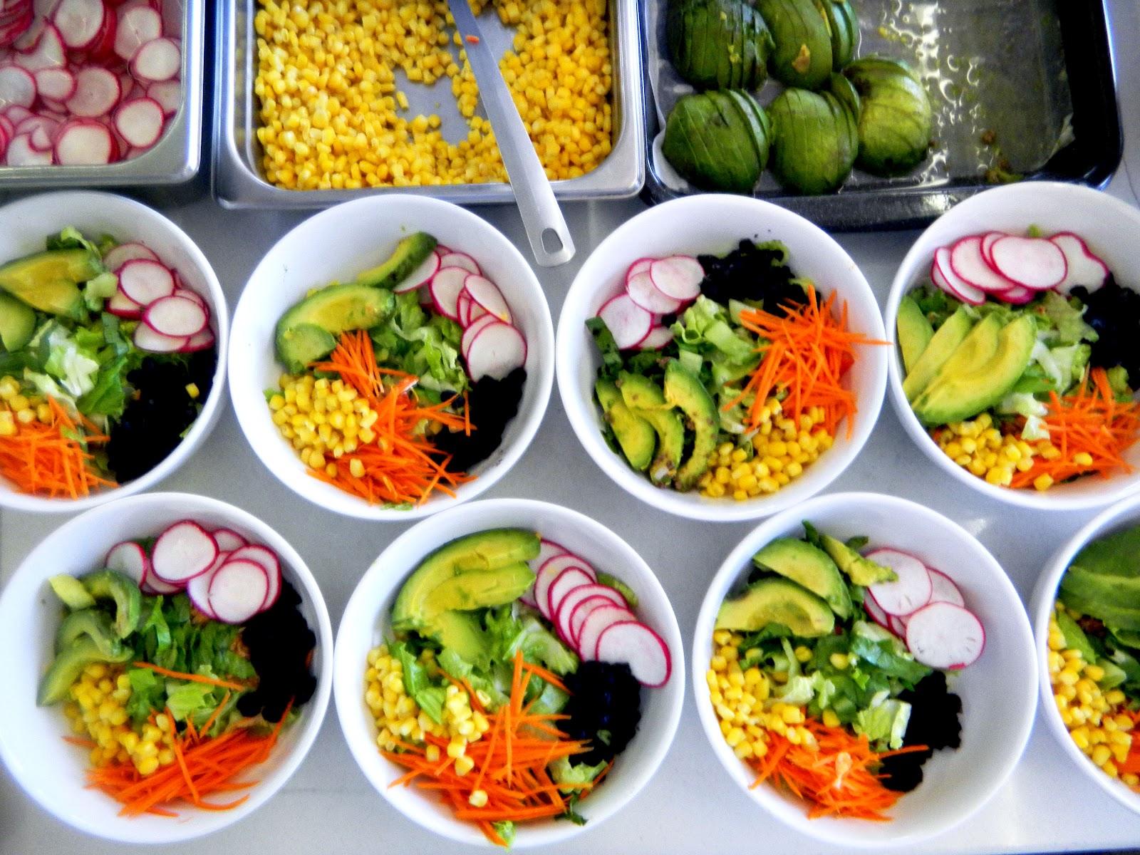 Taco salad bowls with Spanish rice - Cherry on my Sundae