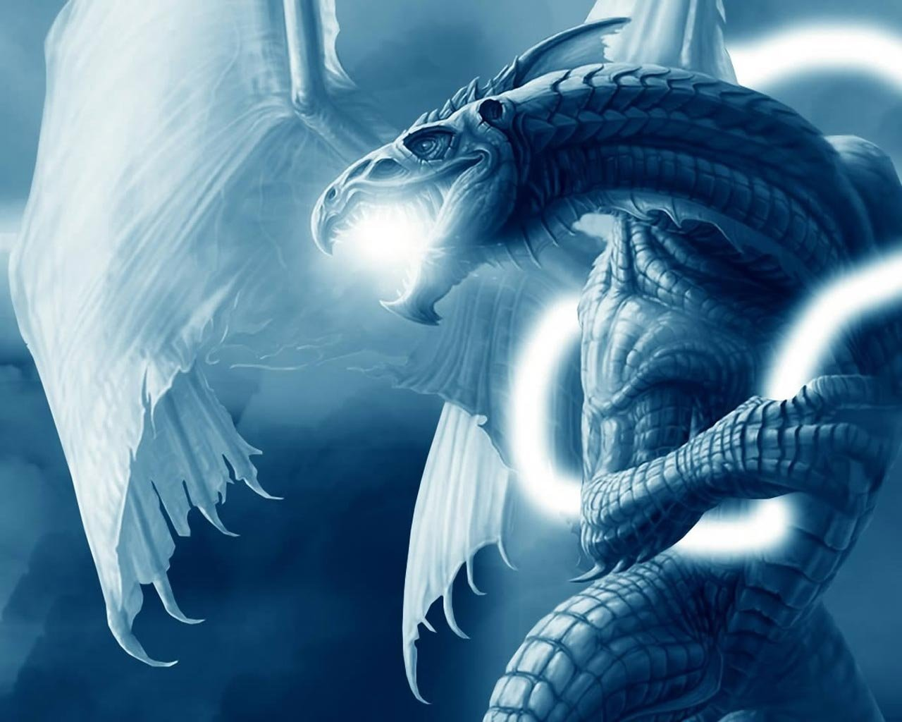 the blue dragon wallpapers wallpaper for background