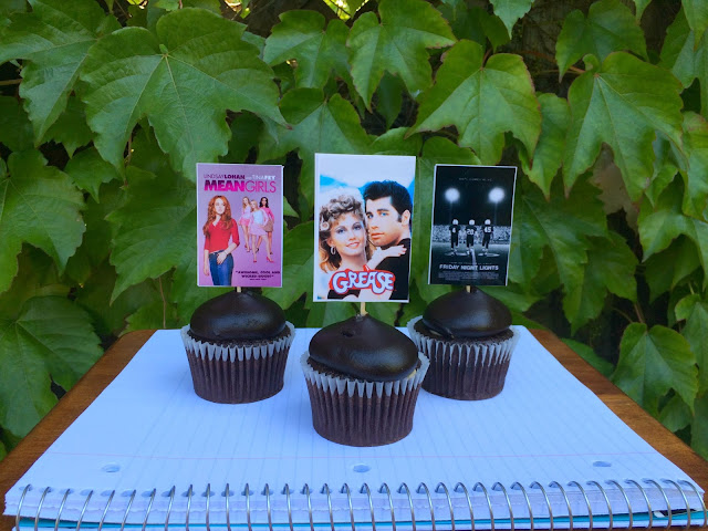 Back to School Movie Cupcakes - www.jacolynmurphy.com