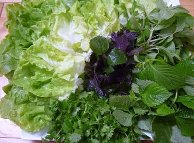 Mối nguy từ rau sống